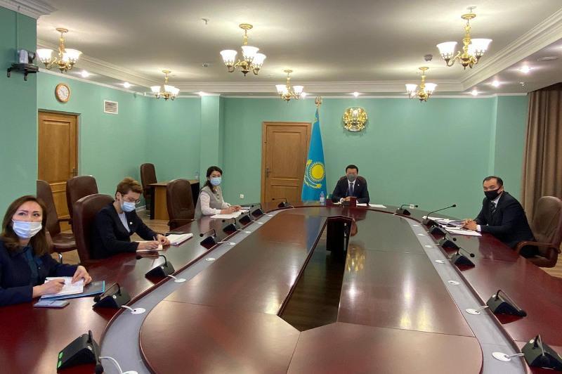 Алексей Цой встретился с представителями Общественного контроля