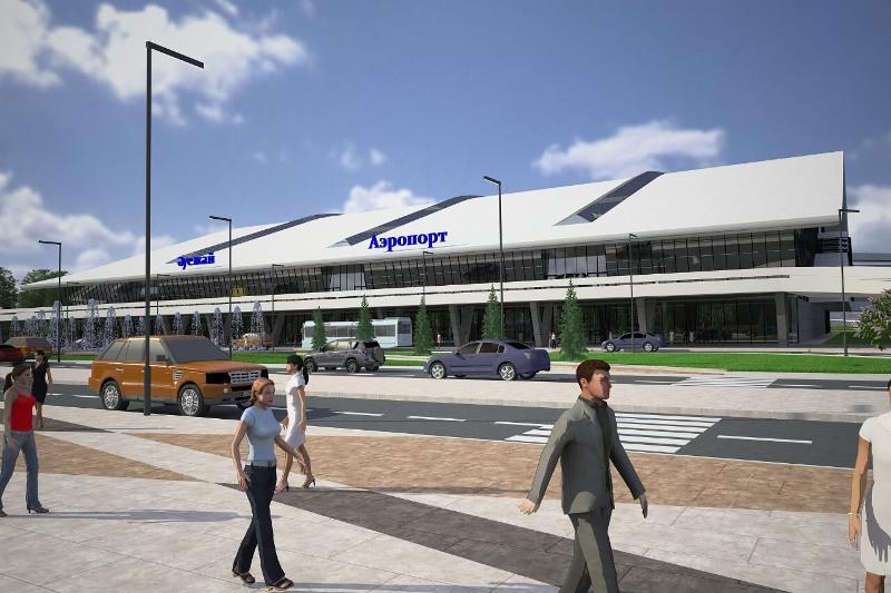 Фонд «Даму» поддержал строительство нового терминала аэропорта в Шымкенте