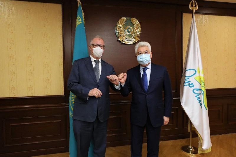 Бейбут Атамкулов обсудил с послом Германии перспективные инвестиционные проекты