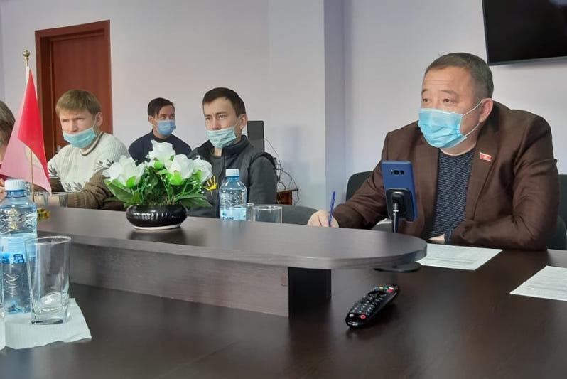 Проблемы самозанятых обсудили в Акмолинской области