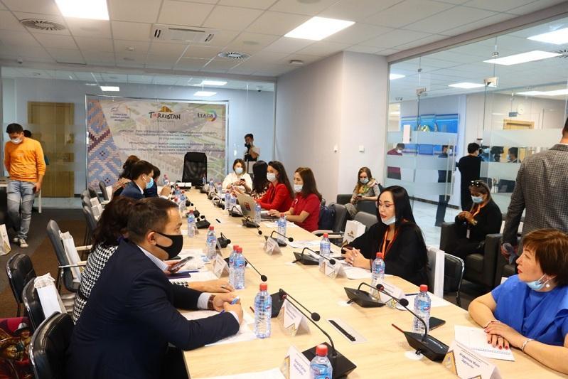 В Туркестане прошла встреча ведущих специалистов сферы казахстанского туризма