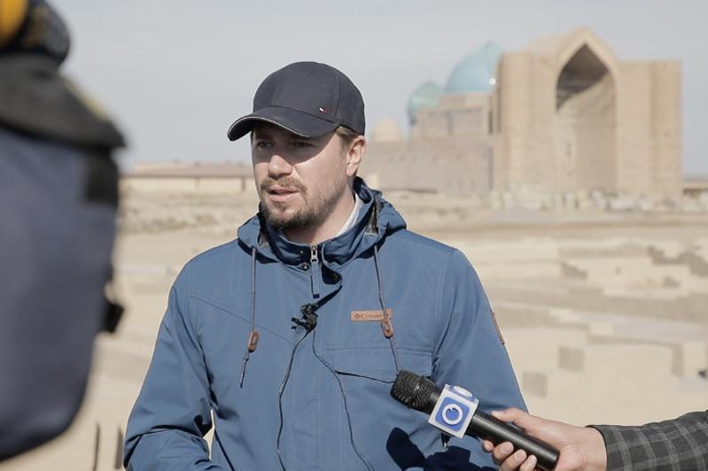 Журналисты ознакомились с памятниками истории и культуры Туркестанского оазиса