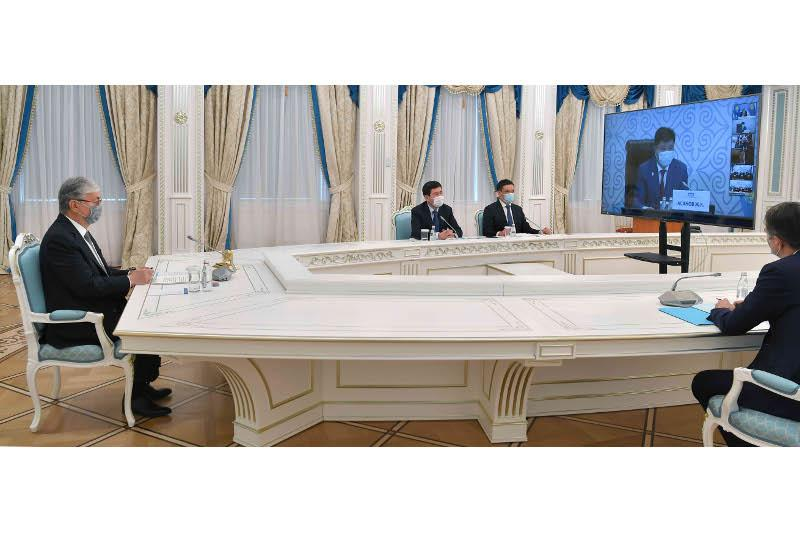 Глава государства принял участие в VIII Съезде судей РК