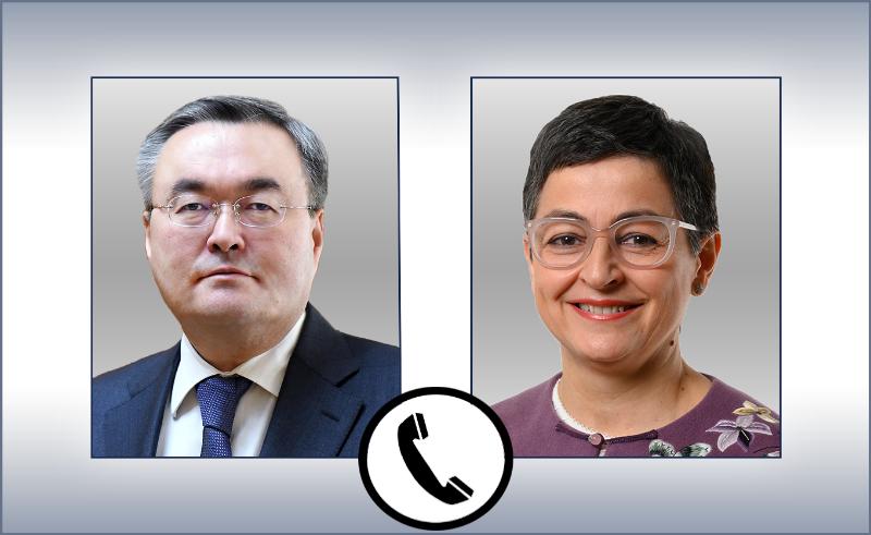 哈萨克斯坦与西班牙外长举行电话会谈