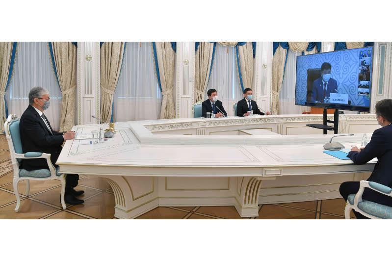 第八届法官大会正式召开 托卡耶夫总统出席会议