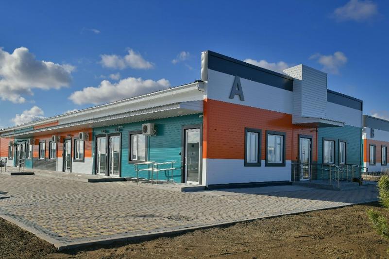 Новый модульный инфекционный госпиталь открыли в Павлодаре