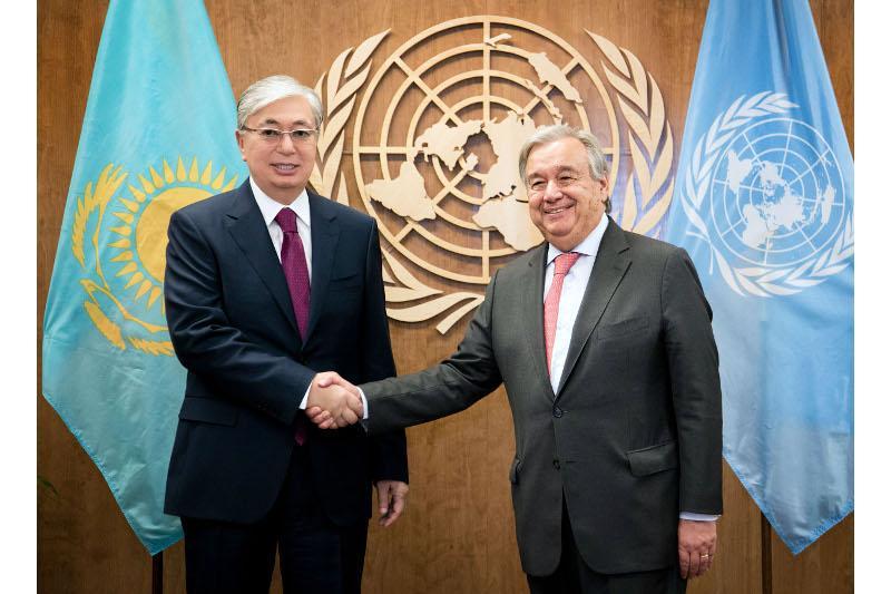 Касым-Жомарт Токаев: ООН продолжает оставаться маяком надежды для миллионов людей