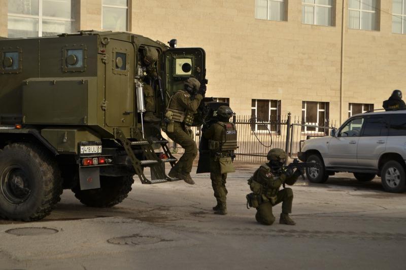В Кокшетау прошли республиканские оперативно-тактические учения