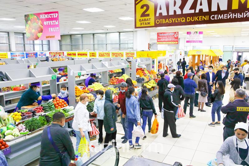 Крытые рынки не будут работать по воскресеньям в Карагандинской области