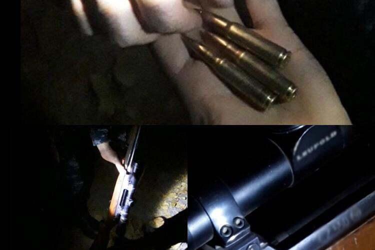 Находящееся в криминальном розыске по Алматы оружие нашли в Таразе