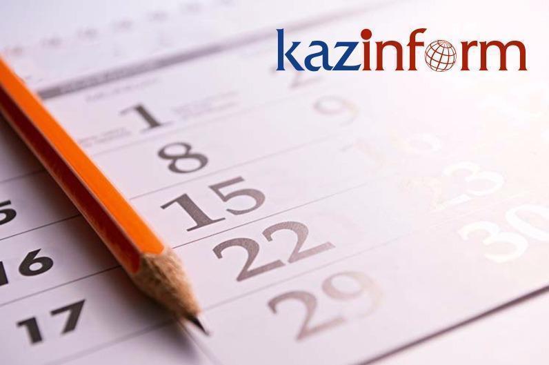 October 25. Kazinform's timeline of major events