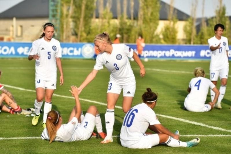Женская команда Казахстана по футболу уступила Сербии