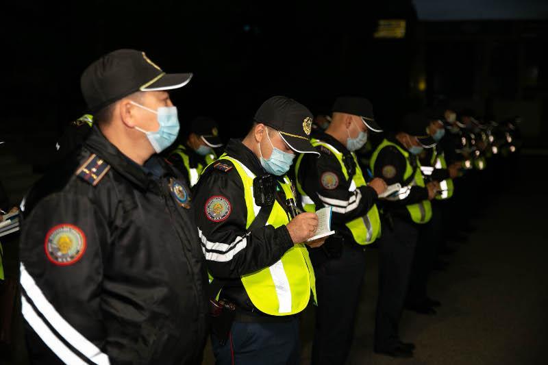 300 полицейскихежедневно патрулируют в пешем порядке в ВКО