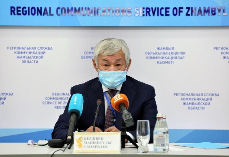 Ответственно относиться к собственному здоровью призвал жамбылцев Бердибек Сапарбаев