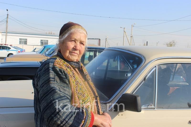 Самым дисциплинированным водителем Жамбылской области оказалась 85-летняя Лидия Сидоренко
