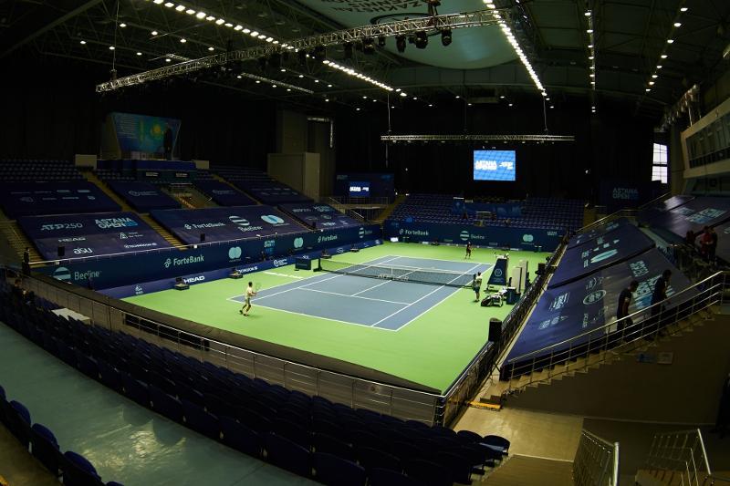 Теннисный турнир серии ATP 250 Astana Open стартовал в Нур-Султане