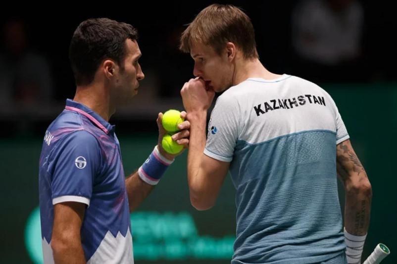 Два казахстанских теннисиста входят в ТОП-100 рейтинга ATP