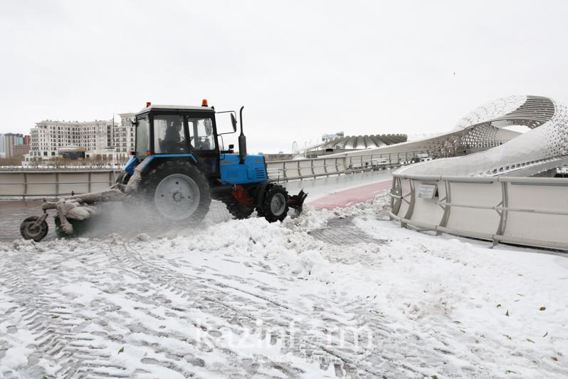 Циклон из Финляндии обеспечивает Казахстан дождем и снегом