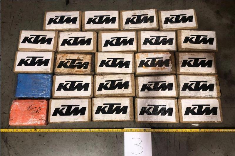Аустралия полициясы Оңтүстік Африкадан келген жүк арасынан 144 келі кокаин тапты