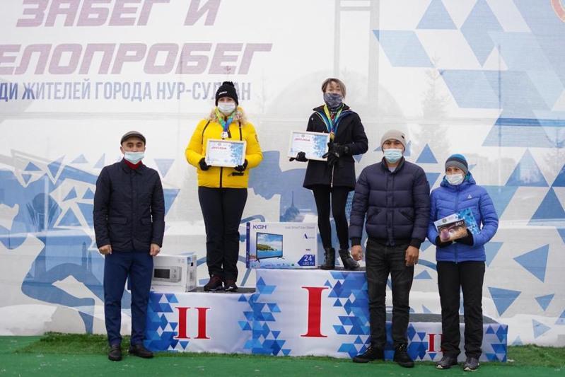 Объявлены победители онлайн-соревнований по забегу и велопробегу в столице