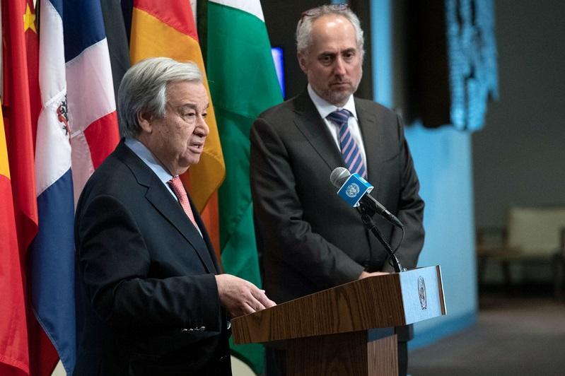 联合国秘书长欢迎亚美尼亚和阿塞拜疆宣布星期一正式停火