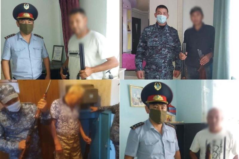 15 млн штрафов заплатили за нарушения владельцы оружия в Жамбылской области
