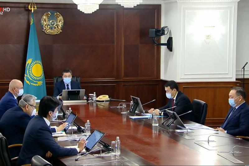 Kazakh PM instructs ministries, administrations to keep under control water supply issues