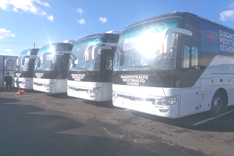 Medical buses to arrive in W Kazakhstan rgn