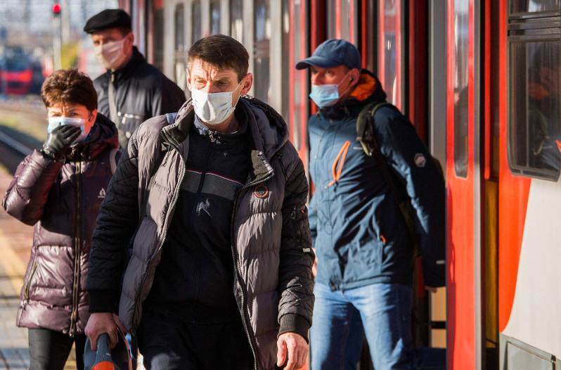 В России ввели масочный режим