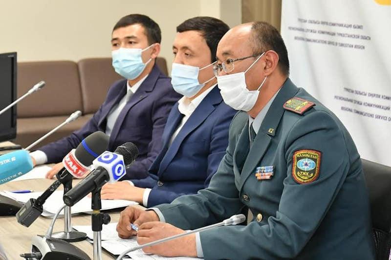 О подготовке к зиме рассказали спасатели Туркестанской области