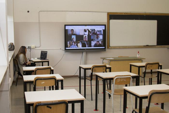 ANSA: Distance learning decision hard, contagion curve concerning-Conte