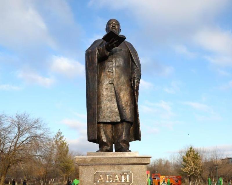 Памятник Абаю открыли в Актобе