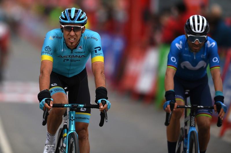 Astana's Fraile 2ndin Vuelta a España Stage 7