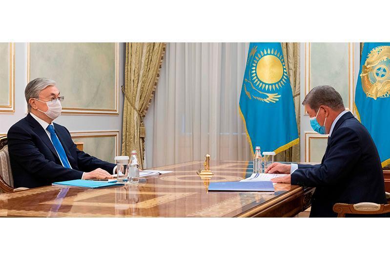 ҚР Президенти «Самрук-Қазына» бошқаруви раисини қабул қилди