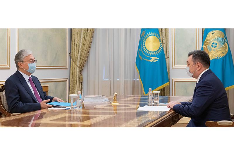 Қасым-Жомарт Тоқаев Дархан Қыдырәліні қабылдады