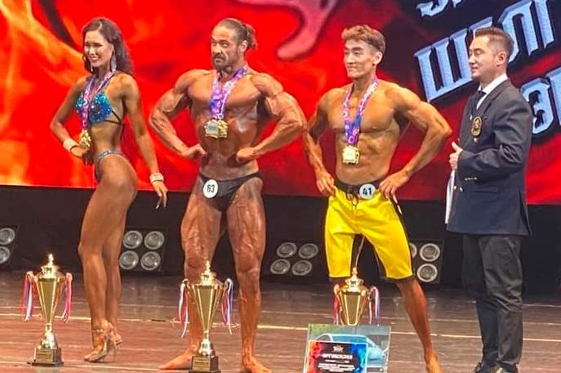 Этнический казах завоевал титул«Мистер Монголия-2020» по бодибилдингу