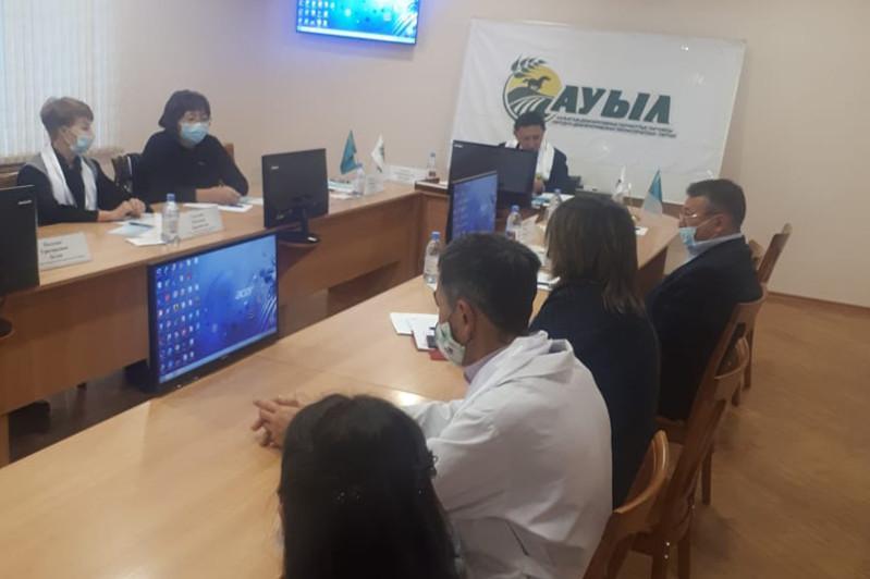 Вопрос предоставления квалифицированной медпомощи сельчанам подняла партия «Ауыл»