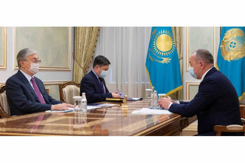 Президент Казахстана принял уполномоченного по защите прав предпринимателей