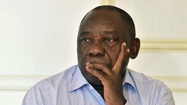 Коронавирус: президент ЮАР самоизолировался