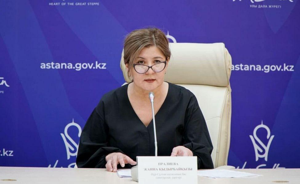 Janna Pirálıeva elordalyqtarǵa: Іndetten keletin shyǵyndy azaıtýǵa kómektesińizder