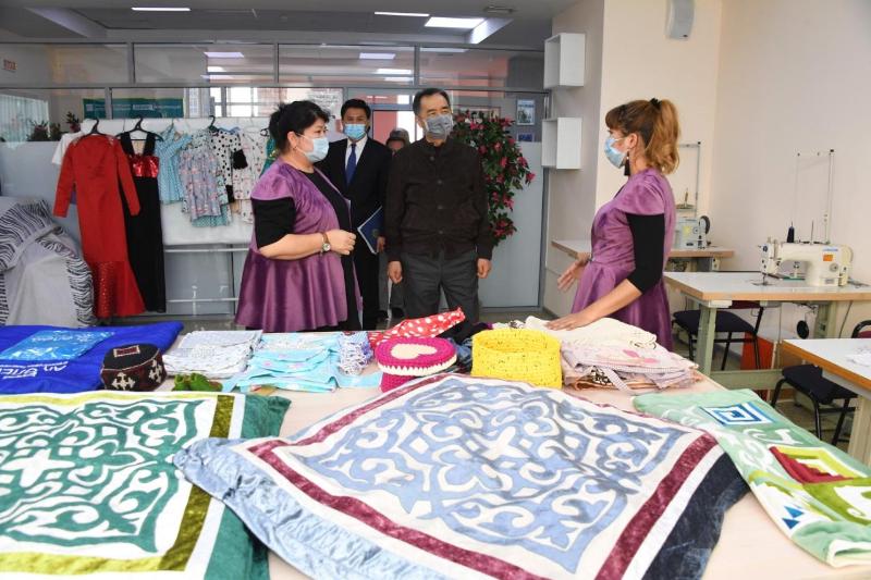 «Бақытты отбасы» становится центром деловой активности многодетных мам – Бакытжан Сагинтаев