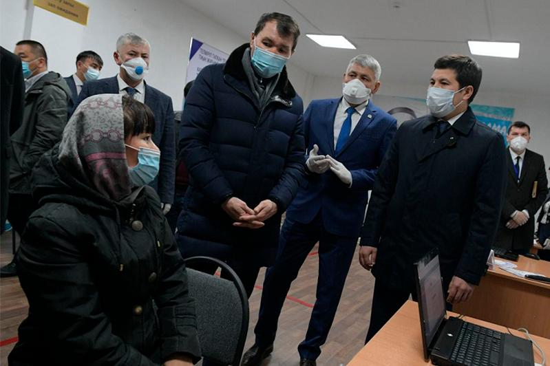 Павлодарскую область посетил глава антикоррупционной службы РК