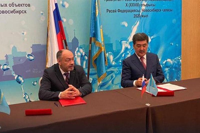 哈俄两国就跨境河流水资源利用进行讨论