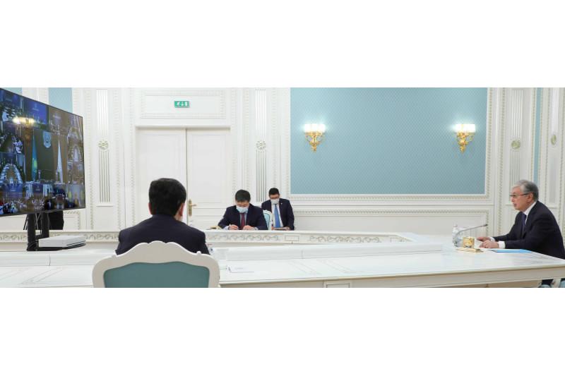 Президент РК принял участие в VII Съезде Национальной палаты предпринимателей «Атамекен»