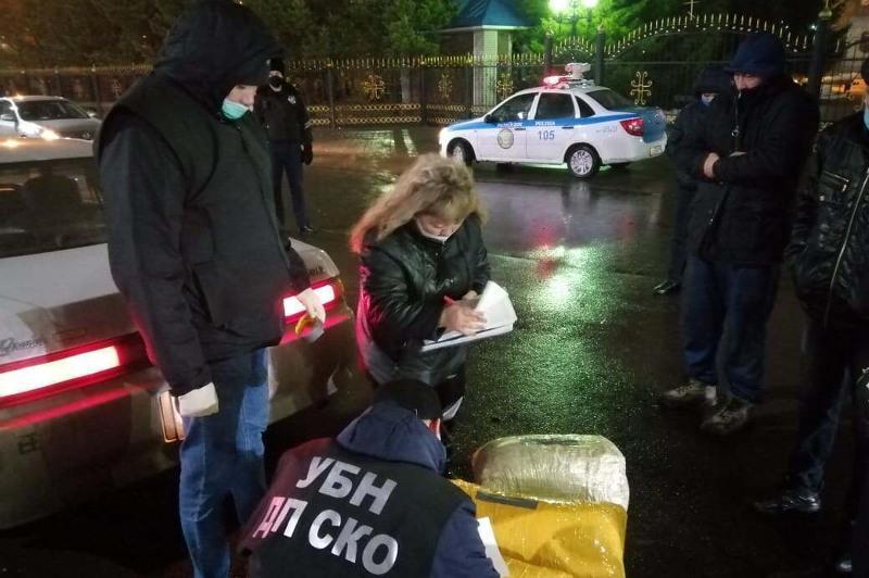 Почти 60 кг марихуаны нашли в багажнике машины в Петропавловске