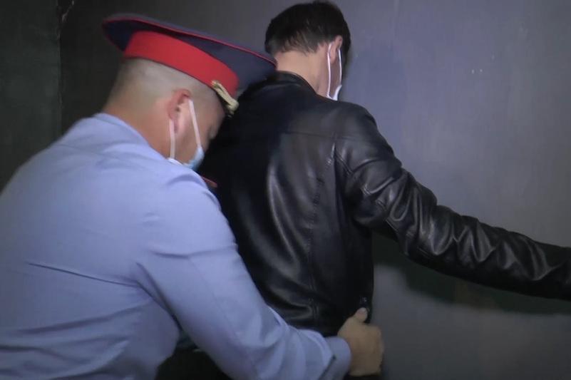 Полиция Kaspi компаниясына қарақшылық шабуыл жасағандарды ұстады