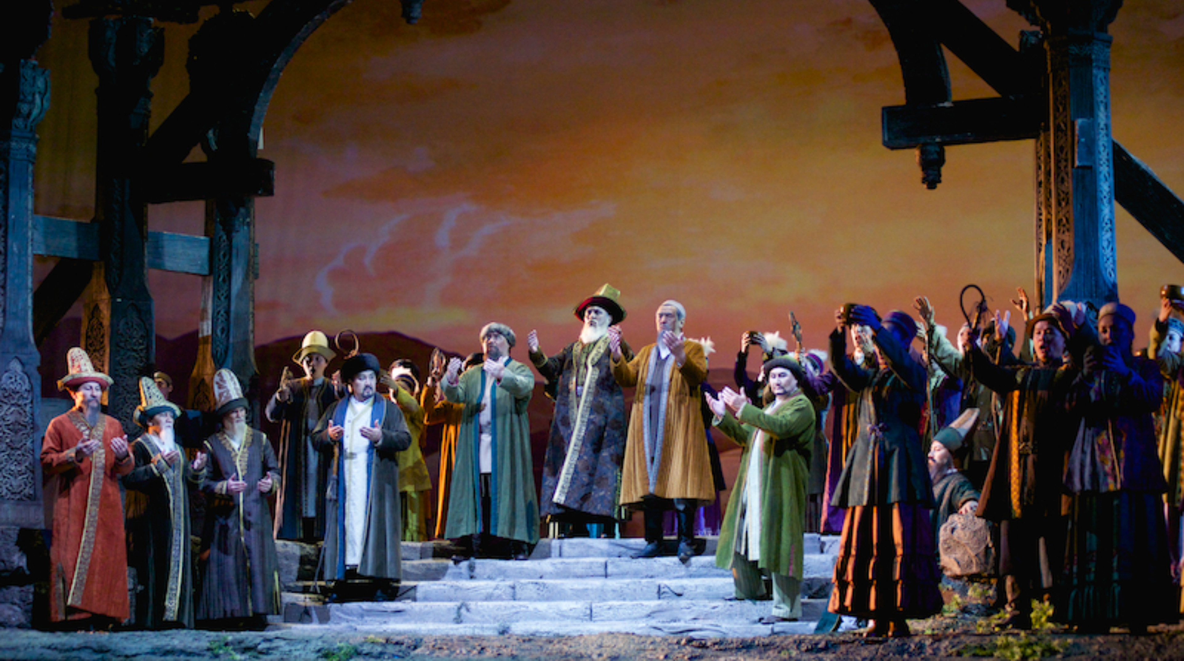 """""""阿拜歌剧中的人物""""展览将在首都努尔苏丹举行"""