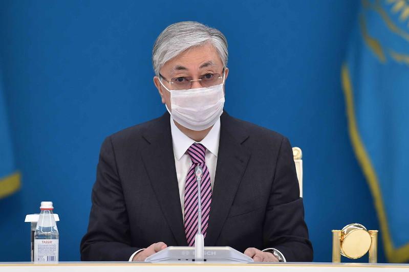 托卡耶夫总统呼吁哈萨克斯坦民众遵守防疫规范