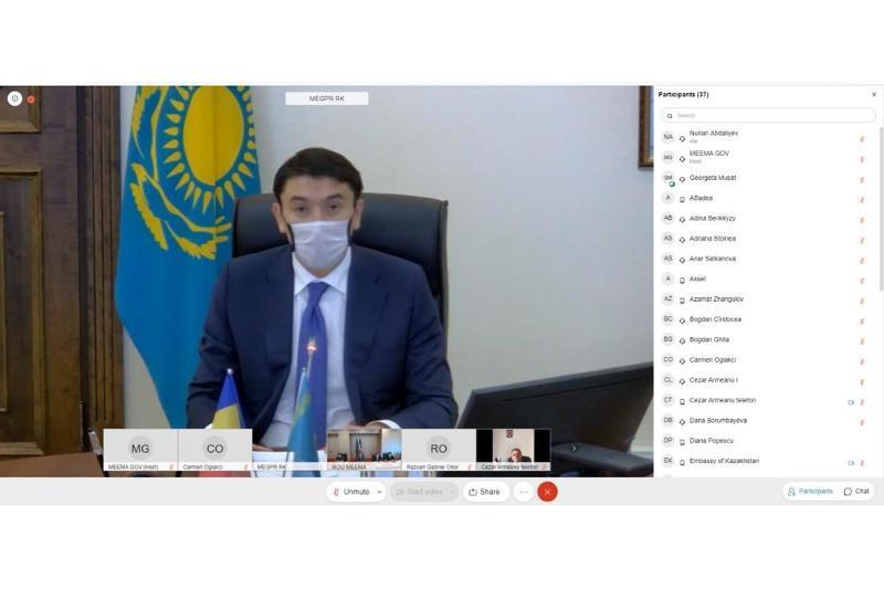 Магзум Мирзагалиев пригласил румынские компании сотрудничать в сфере переработки ТБО