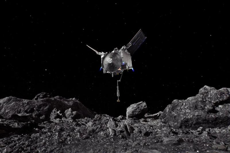 Asteroid samples safely stored for delivery to Earth: NASA
